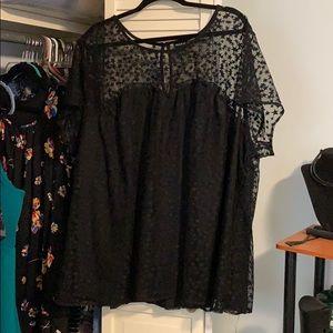 Torrid dress blouse